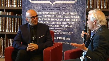 Pascal Obispo - Pierre-Marie Boccard / © Olivier Mayer / France 3 Champagne-Ardenne