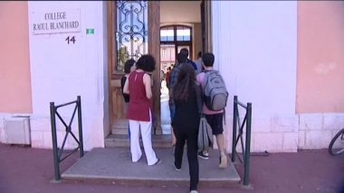 Au Collège Raoul Blanchard d'Annecy  / © France 3 Alpes