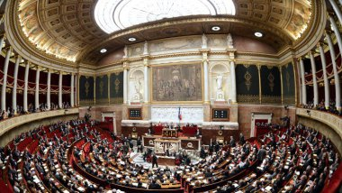 L'hémicycle de l'Assemblée nationale