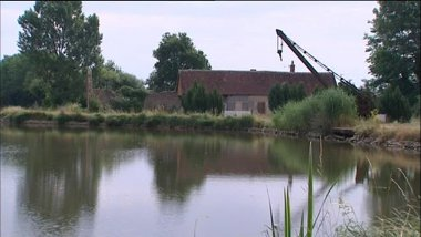 Les bords du canal de Berry à Charenton-sur-Cher  / © France 3 CVDL