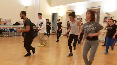 Le cours de break dance d'Ahmed Minyaoui / © France 3 Alsace