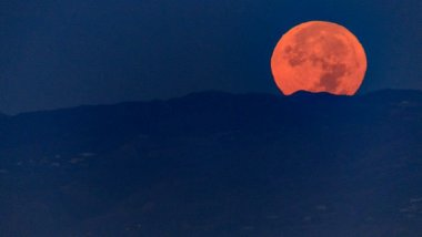 La super lune vue aux Etats-Unis / © Christopher Polk / GETTY IMAGES NORTH AMERICA / AFP