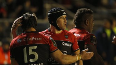 RCT en Coupe d'Europe de rugby au Stade Mayol / © PQR/LA PROVENCE  Rugby Coupe d'Europe ERCC ( European Rugby Champions Cup ) RC Toulon