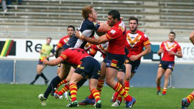 TO XIII vs Dragons catalans - archives 2012 / © MaxPPP