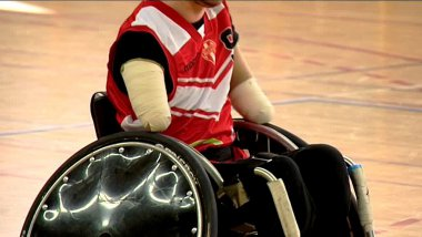 Rugby-fauteuil / © France 3 Limousin