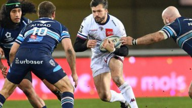 Ashley-Cooper lors du match Montpellier-UBB le 6 janvier 2017 / © PASCAL GUYOT / AFP