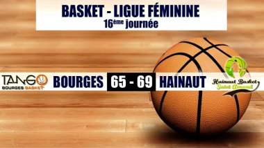 Les Tango s'inclinent face au Hainaut Basket / © France 3 Centre-Val de Loire