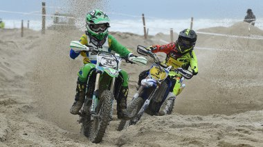 L'Enduropale Espoirs, 4ème course du week-end au Touquet. / © MAXPPP