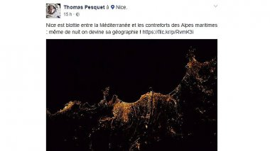 © Facebook/Thomas Pesquet