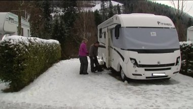 Le camping-neige. / © David Bailly - France 3 Lorraine