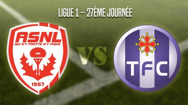 AS Nancy Lorraine vs Toulouse FC. / © Infographie : Cassandra Bijeard