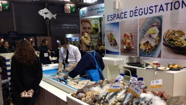 L'étal du poissonnier au Salon International de l'Agriculture / © GS, France 3 Pays-de-la-Loire