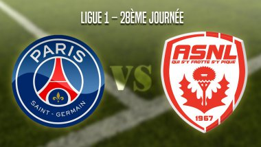 Paris Saint-Germain vs AS Nancy Lorraine / © Infographie : Cassandra Bijeard