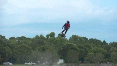 Le flyboard est une invention marseillaise