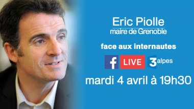 Eric Piolle, maire de Grenoble / © France 3 Alpes