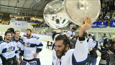 Gap vainqueur de la Ligue Magnus 2017 face à Rouen / © France 3 Normandie
