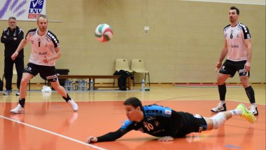 Le Rennes volley affrontera Plessis-Robinson volley-ball en demi-finale de play-offs. / © MaxPPP