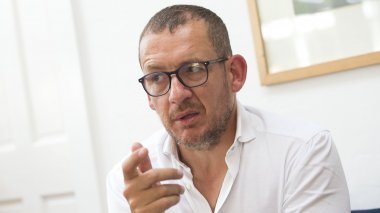 Dany Boon, à Los Angeles, le 27 avril 2017 / © AFP