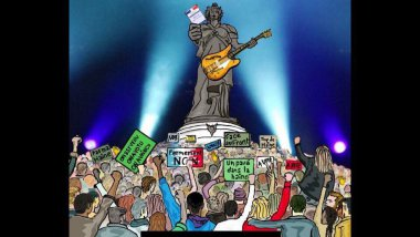 Gauvain SERS chante contre le Front ational