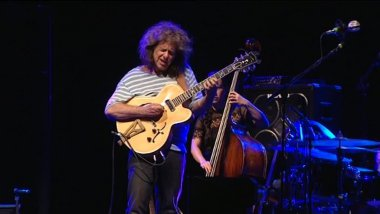 Pat Metheny au festival Jazz sous les pommiers de Coutances le 24 mai 2017 / © France 3 Normandie