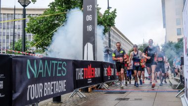 La Tower Run à Nantes le 12 juin 2016 / © CC The Tower Run