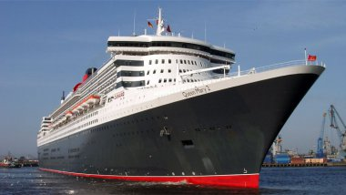 Le Queen Mary 2 en 2005. / © Wikimedia Commons / CC-BY-SA-3.0 KMJ