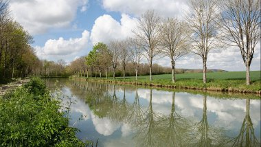 Le canal de Bourgogne / © Myrabella / Wikimedia Commons / CC BY-SA 4.0