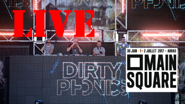 Dirtyphonics en direct du Main Square Festival d'Arras dans la nuit de samedi à dimanche à 0h35 / © MARK DAVIS / GETTY IMAGES NORTH AMERICA / AFP