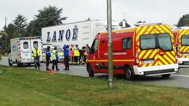 Accident à Noyal-Châtillon-sur-Seiche / © A. Jegou - France 3 Bretagne