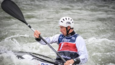 Boris Neveu avait été champion du monde de kayak en 2014. / © Quentin Top / France 3