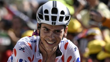 Warren Barguil pendant le Tour de France 2017 / © PHILIPPE LOPEZ / AFP