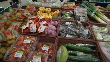 Fruits et légumes bio en supermarché / © France 3 RA