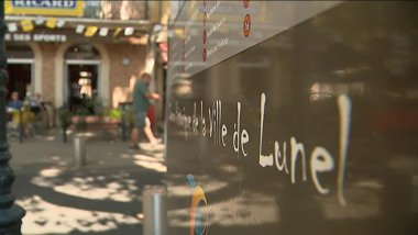 La ville de Lunel veut redorer son image à travers une campagne de communication - septembre 2017 / © France 3 LR