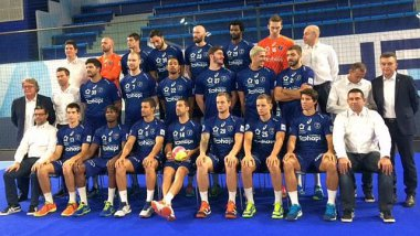 Montpellier - la photo officielle du MHB 2017-2018 - 11 septembre 2017. / © F3 LR