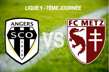 Angers SCO vs FC Metz / © Infographie : Morgane Hecky