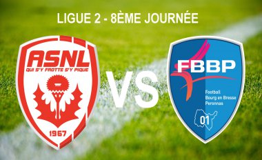 AS Nancy Lorraine vs Football Bourg-en-Bresse Péronnas 01 / © Infographie : Morgane Hecky