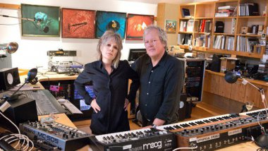 Tina Weymouth et Chris Frantz du groupe Tom Tom Club / © Liz Wendelbo