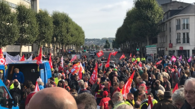 Départ de la manifestation de Rouen le 21 septembre 2017 / © Photo : Patrice CORNILY / France 3 Normandie