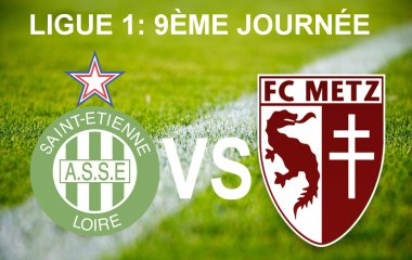AS Saint-Etienne vs FC Metz / © France 3 Lorraine