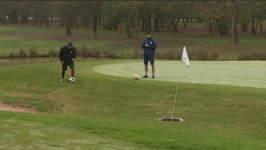 Du Footgolf à Margaux le 14 octobre 2017. / © France 3 Aquitaine