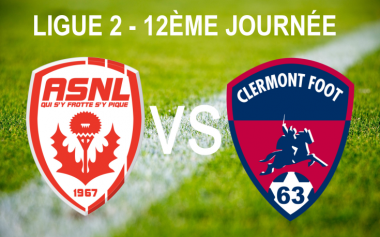 AS Nancy Lorraine vs Clermont Foot 63 / © Infographie : Morgane Hecky - France 3 Lorraine