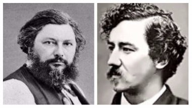 Gustave Courbet et James Mc Neill Whistler