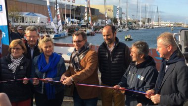 Le Havre : inauguration de la Transat Jacques Vabre 2017 / © Photo : Richard PLUMET / France 3 Normandie
