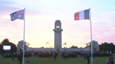 © Photo d'illustration (Anzac Day Mémorial Australien Villers-Bretonneux)
