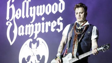 Johnny Depp jamais loin d'Hollywood / © MaxPPP - Felis Luna/Geisler-Fotopress