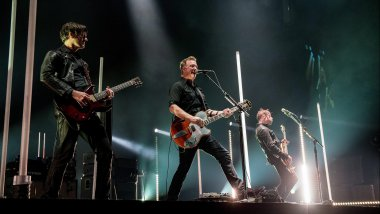 Queens of the Stone Age le 21 novembre dernier / © MAXPPP
