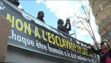 Le collectif contre l'esclavage et les camps de concentration en Libye regroupe une dizaine d'associations. / © F 3