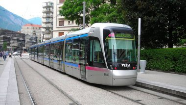 Photo d'illustration. Ligne C du tramway de Grenoble / © Citaro G / Wikimedia Commons