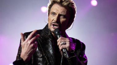 Johnny Hallyday en 2003. / © BERTRAND GUAY / AFP