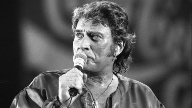 Johnny Hallyday lors du concert de ses 50 ans au Parc des Princes. Photo Laurent Lagneau / © Laurent Lagneau